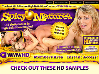 Spicy Matures - Old Slutty ladies in high definition porn movies